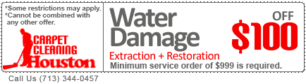 flood damages and water extraction & restoration